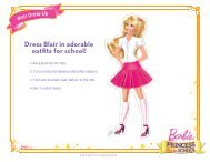Dress Blair in adorable outfits for school!
