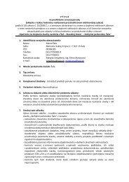 V Ý Z V A na predloženie cenovej ponuky (zákazka s ... - Mesto Šaľa