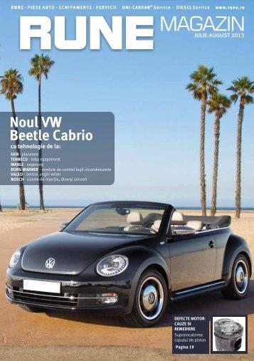 Noul VW Beetle Cabrio - RUNE Piese Auto