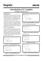 AN109 1Introduction of C Compiler