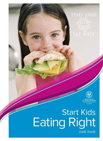 Start Kids Eating Right - SA Health - SA.Gov.au