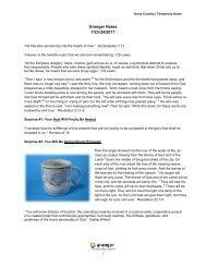 Granger Notes 7/23-24/2011