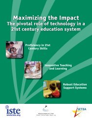 Maximizing the Impact - The Partnership for 21st Century Skills