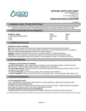 Where can you find Lysol's material safety data sheets?