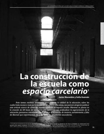 La construcción de la escuela como espacio ... - Revista Docencia