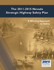 The 2011-2015 Nevada Strategic Highway Safety ... - Zero Fatalities