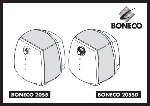 Handleiding Boneco 2055 - Fonq.nl