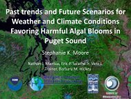 Past trends and Future Scenarios for Weather and Climate ...