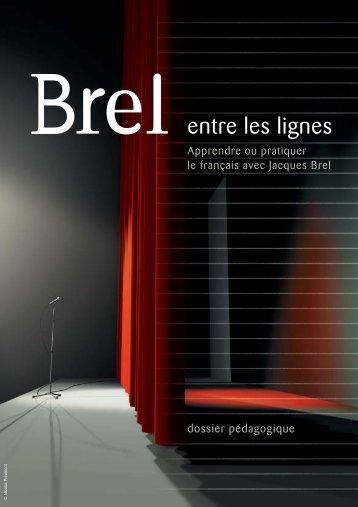 Apprendre ou pratiquer le français avec Jacques BREL - WBI