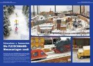 Messeanlagen 2008 - Fleischmann-HO