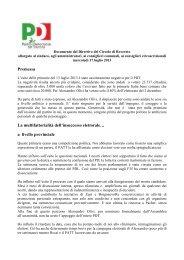 circolo Pd Rovereto - Partito Democratico del Trentino