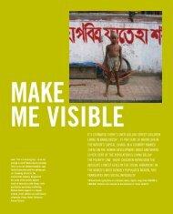 Make me visible - AusAID