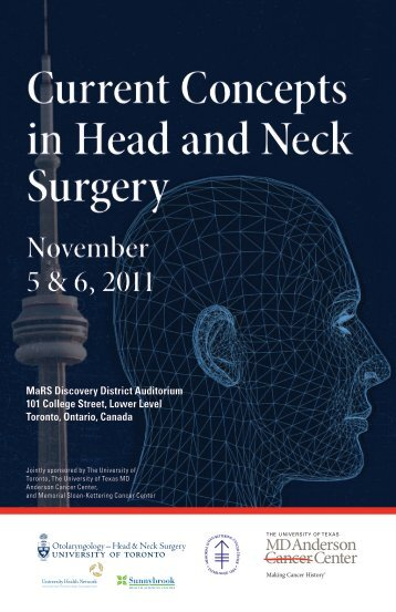 Current Concepts in Head and Neck Surgery - Memorial Sloan ...