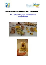 Fasziantion Kochkunst WEKO 2012 - Schweizer Kochverband