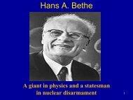 Hans A. Bethe