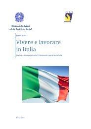 Vivere e lavorare in Italia - eures