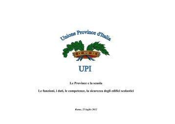 mauro solari upi unione delle province d italia