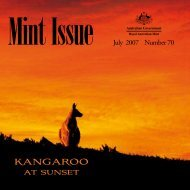 Mint Issue - July 2007 - Issue No. 70 - Royal Australian Mint