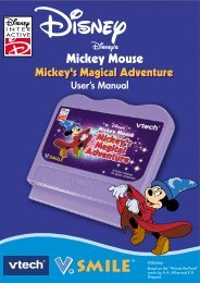 V.Smile: Mickey Mouse: Mickey's Magical Adventure - VTech