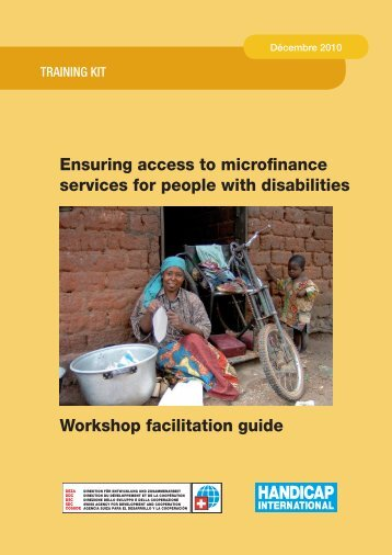 Ensuring access to microfinance services for people with disabilities ...