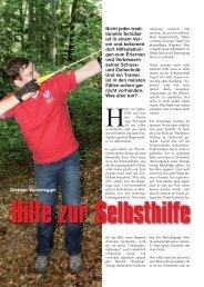 Hilfe zur Selbsthilfe - Bogensportverlag