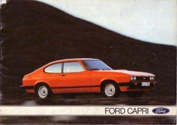 Ford Capri III - Niemcy - 05.1978 - Capri.pl