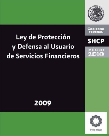 Ley de Protección y Defensa al Usuario de Servicios ... - Condusef