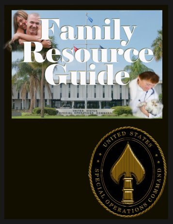 Family Resource Guide - United States Special Operations Command