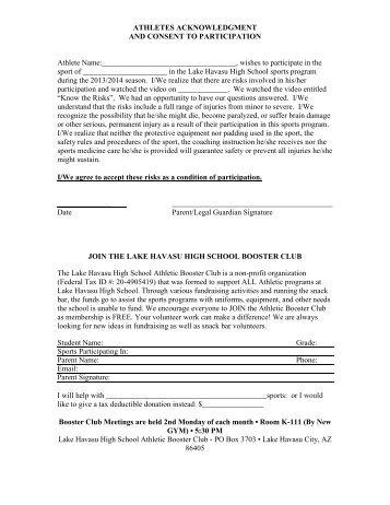 Emergency Preparedness Parent Letter