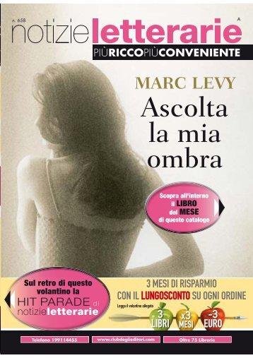Catalogo Notizie Letterarie n.658 Novembre 2011 - Euroclub