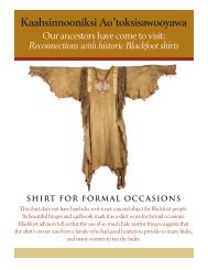Shirt for formal occasions - Pitt Rivers Museum
