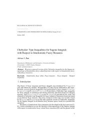Chebyshev Type Inequalities for Sugeno Integrals with Respect to ...
