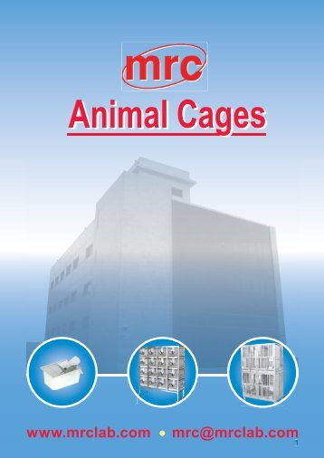Cages Animal - DLA Scientific Ltd
