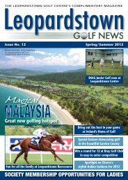 Magical - Backspin Golf Magazine