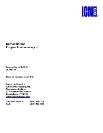07A-20102 Corticosterone Enzyme Immunoassay Kit.pdf