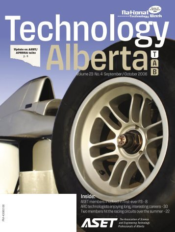 Technology Alberta sept-oct.06 - ASET