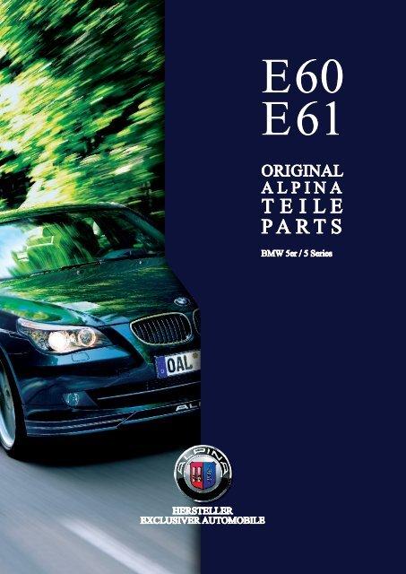 4110dee24888 E60 E61 Parts   Accessory - BMW Alpina