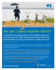 Healthy Futures 4 - Are you a good corporate citizen? - Sustainable ...
