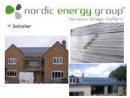 Nordic Energy Group forventninger til solenergi