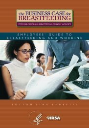 Employees Guide to Breastfeeding and Working - WomensHealth.gov
