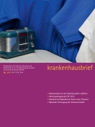 Krankenhausbrief 215 Juni 2011 - Ev. Krankenhausgemeinschaft ...