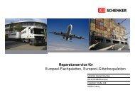 Lademittel Tausch & Reparatur - Schenker Deutschland AG