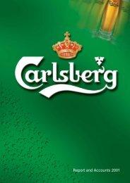Annual Report 2001 - Carlsberg Group