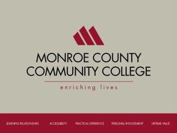CNA Orientation - Monroe County Community College