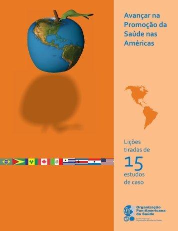 Avançar na Promoção da Saúde nas Américas - PAHO/WHO