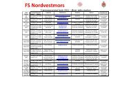 FS Nordvestmors - Sundby Mors