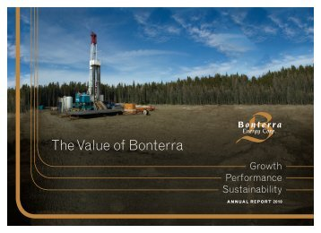 2010 - Bonterra Energy Corp.