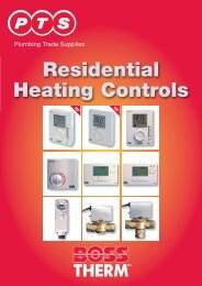 Residential Heating Controls - PTS