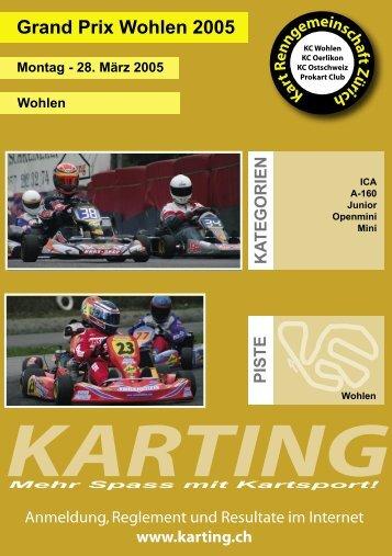Reglement - Karting.ch