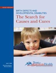 Adequately fund birth defects surveil - aaidd